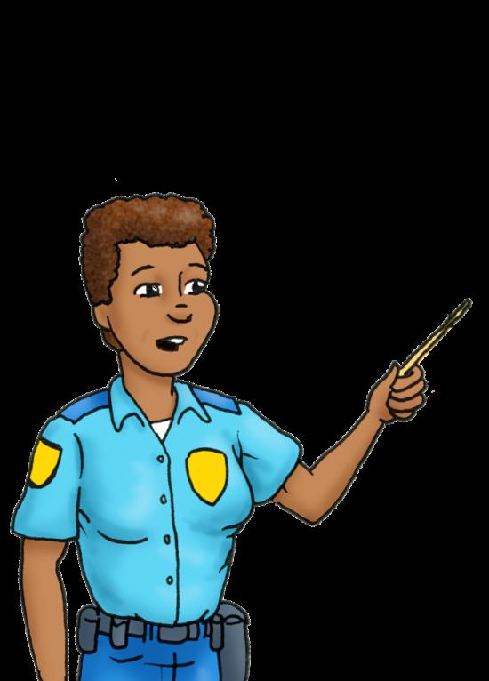 Cops Corner Briefing Officer