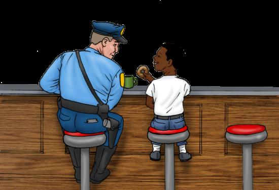 Cop's Corner Lunch Break